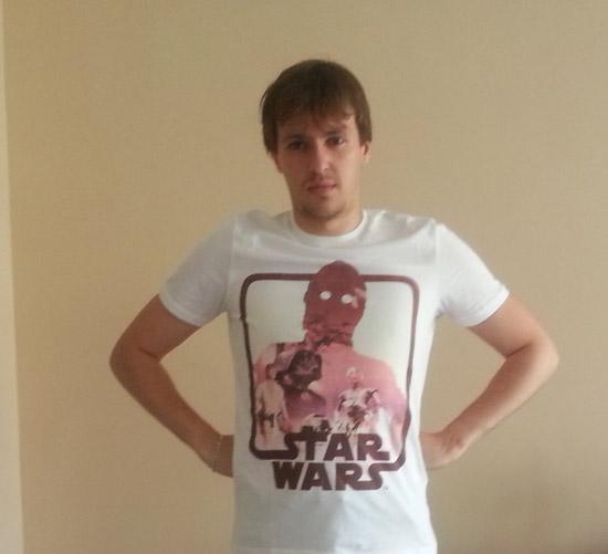 #LaFêteDesPères : Star Wars les T-shirts père-fils par Celio #2