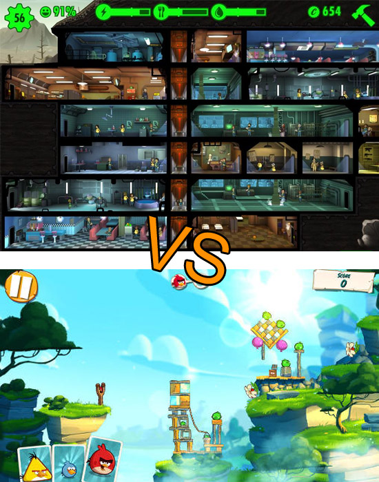Angry Birds 2 & Fallout Shelter, que valent-ils ?