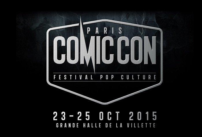logo Comic Con Paris 2015 - 700px