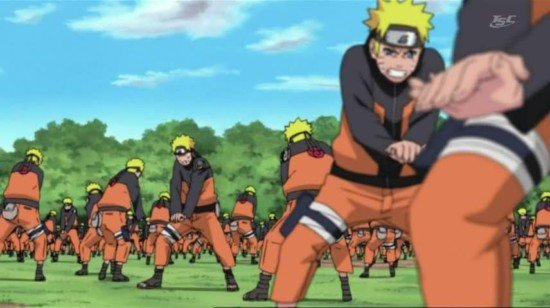 naruto entrainement