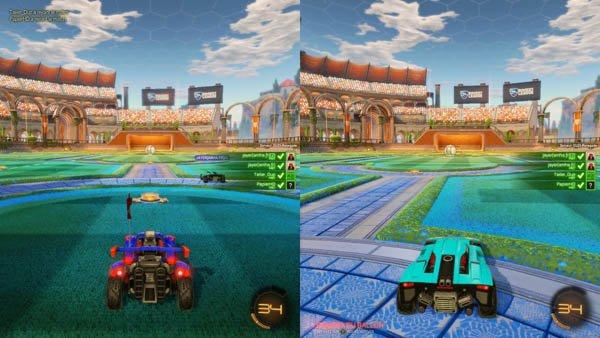 Rocket League - Du foot et des voitures pour un max de Fun