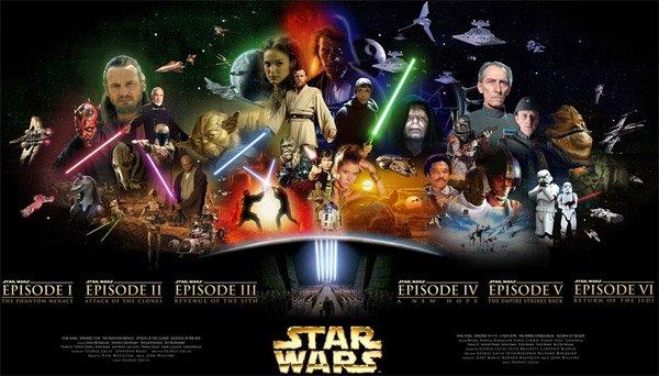 Star Wars, commencer par 1,2,3 ou 4,5,6 ?