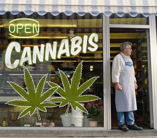 cannabis boutique depenalisation