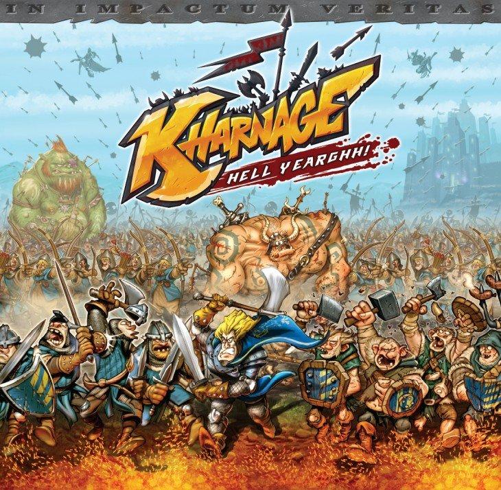 Le jeu de carte Kharnage arrive sur Kickstarter... YEAAAHHHHH