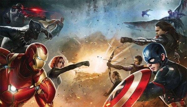 Captain America 3 - Civil War : Focus sur Spiderman et Black Panther