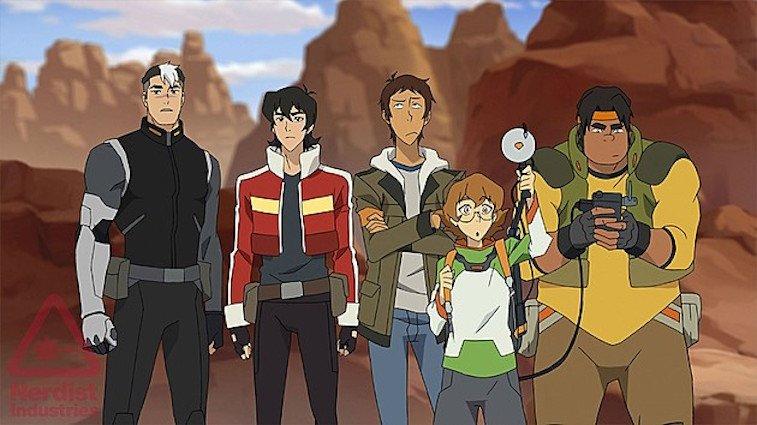 Voltron revient sur Netflix par les créateurs d'Avatar la Legende de Korra