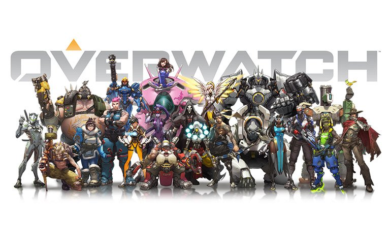 overwatch jeu blizzard personnages
