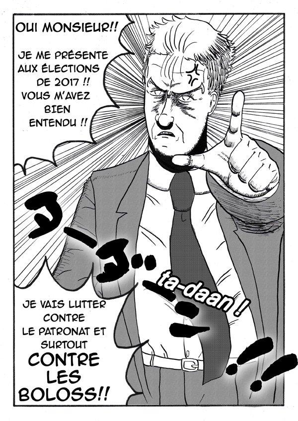 Melanchon-Manga