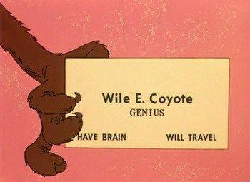 Bip Bip et Coyote ou la théorie d'ACME #4