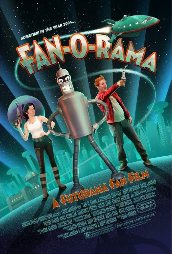 fan o rama futurama fan film 2