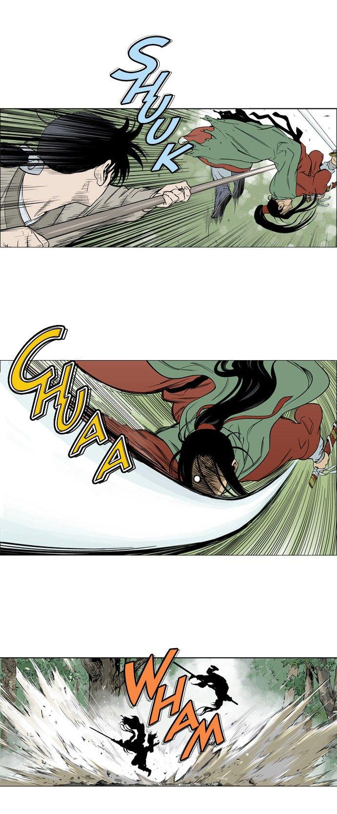 le Web manhwa Gosu - Tigre et Dragon puissance mille #3