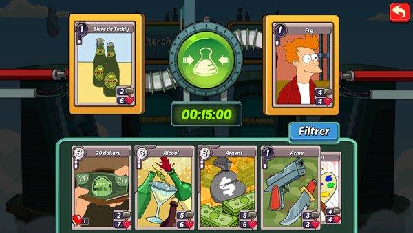 Animation Throwdown : le jeu de carte sur mobile qui réunit vos dessins animés préférés les plus trash ! #3