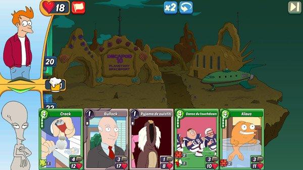 Animation Throwdown : le jeu de carte sur mobile qui réunit vos dessins animés préférés les plus trash ! #4