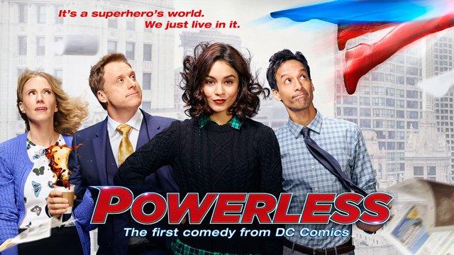Powerless quand DC veut faire dans la comédie... c'est cliché