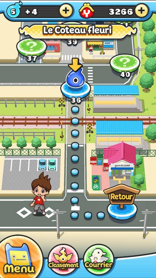 Test du jeu mobile Yo-Kai Watch Wibble Wobble #2