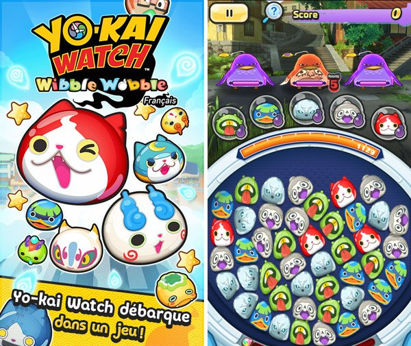 Test du jeu mobile Yo-Kai Watch Wibble Wobble
