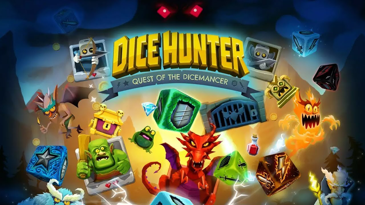 Dice Hunter : le jeu de dés/RPG sur mobile