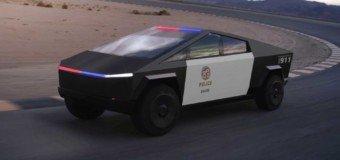 Des Cybertruck Tesla vont être transformés en voitures de police
