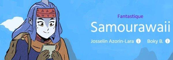 Interview de Josselin Azorin Lara un des premiers auteurs de Webtoon français : Samourawaii